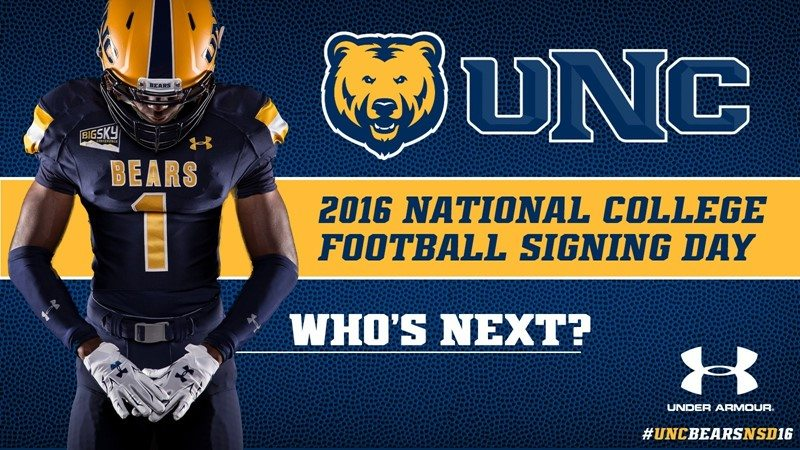 quality design 884bd 773c9 University of Northern Colorado 2016 recruiting class ...