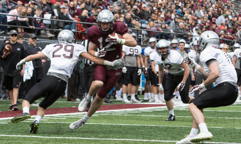 Griz finish spring ball in front of thousands with spirited