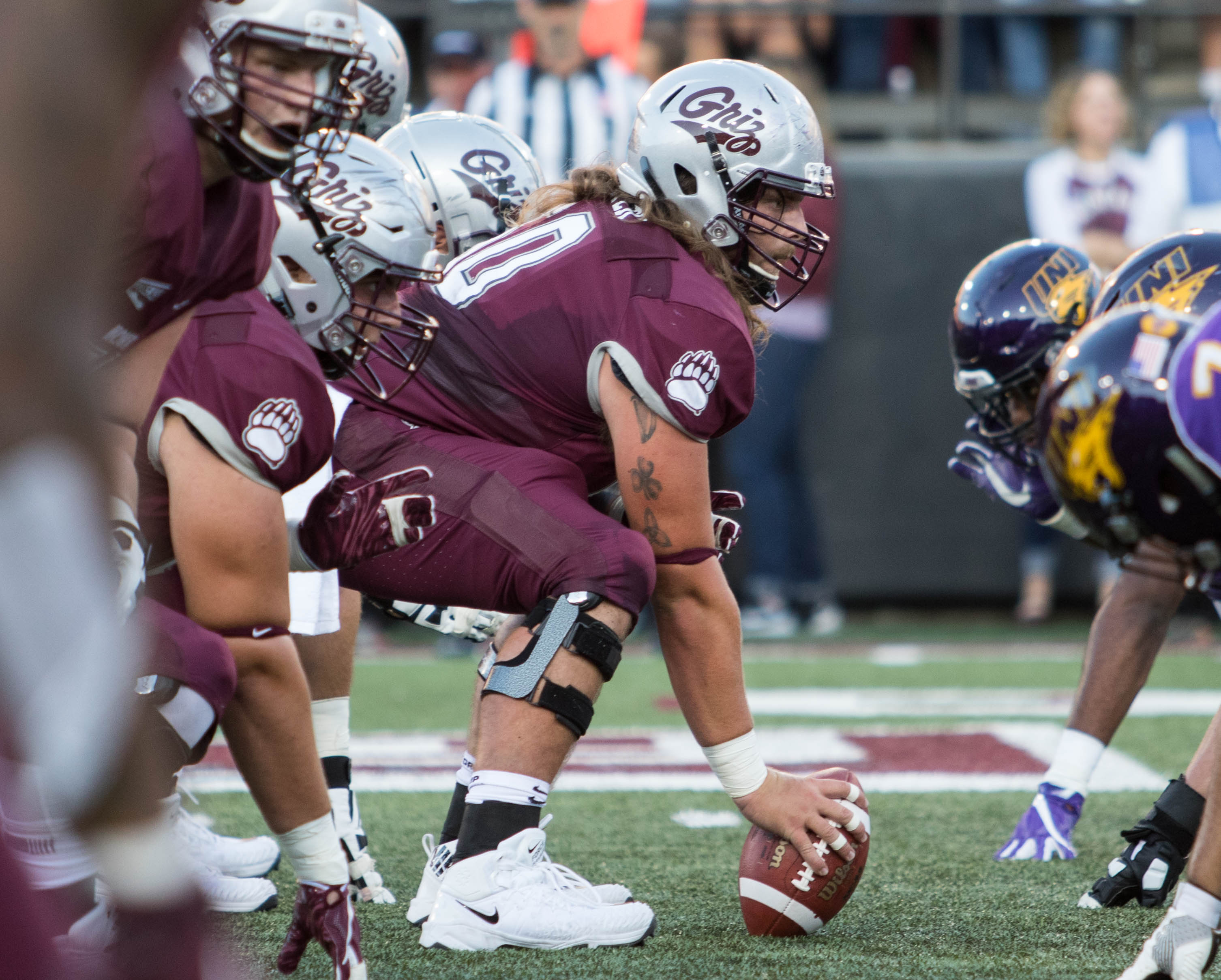 Cut Ups Breaking Down The Film On Montana S First Drive Against Uni