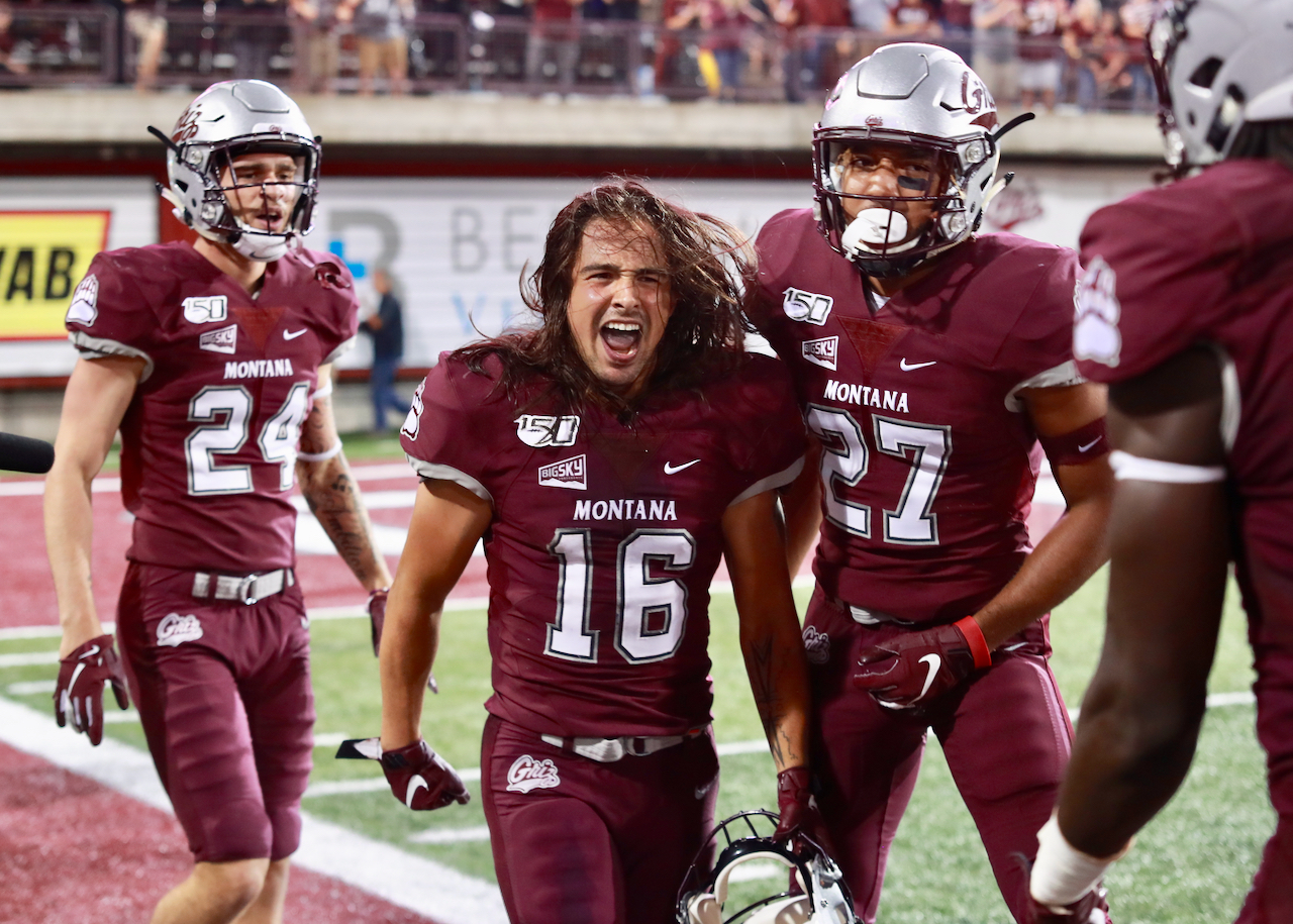 Griz score 45 unanswered in the second half to run away from
